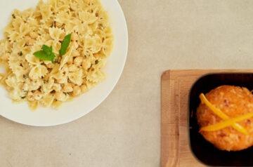 Makaron z ciecierzycą jako przepis na szybki obiad!