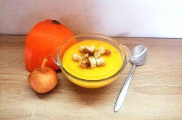 Krem z dyni – jesień na talerzu!